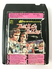 Vintage THAT'LL BE THE DAY 40 Smash hits based on the film 8 Track
