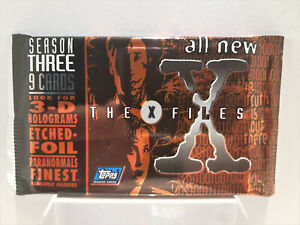 Topps The X-Files Series 3 trading card pack 1996