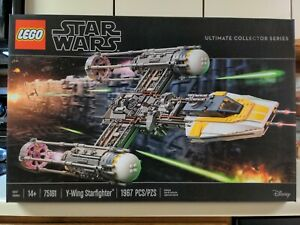 Lego Set #75181 Star Wars Ultimate Collector Series Y-Wing Starfighter Retired