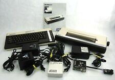 Atari 600 XL and Atari 1027 Printer and Accessories Vintage