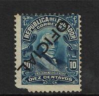 Ecuador SC# O177, Mint No Gum, Hinge Rem, inverted ovpt, minor toning - S9136