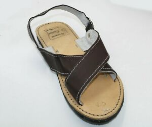 MEXICAN Men's Genuine Cowhide Natural Leather Quality Handmade Sandals