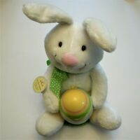 Hallmark Rockin' Rabbit Features Sound & Motion Plush Stuffed and Cute NWT
