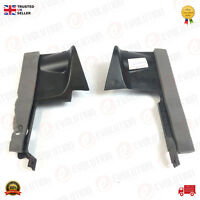 A PAIR OF OEM RADIATOR AIR DEFLECTORS FORD TRANSIT CONNECT 1.8 2009 ONWARD