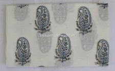10 Yard Indian Hand Block Print Cotton Voile Fabric Sewing Material Fabric 65