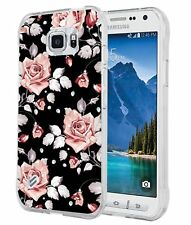 S6 Active Case Floral BlackCCLOT Samsung Galaxy S6 Active Cover Protective Cu...