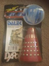 Vintage Doctor Who Red Dalek figure Dapol 1987