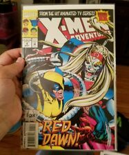 X-MEN ADVENTURES COMIC BOOK ISSUE #4 RED DAWN! MAY 1994 MARVEL FOX BAG & BOARD