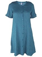 friboo abito shirt dress camicia corto bambina verde pois it 158 / 164 uk 13/14