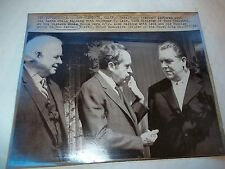 Press Release Photo of PRESIDENT NIXON / VOLDEMAR P.LENIN / DON KENDALL-Pepsi .