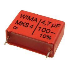 WIMA metallisierter poliestere canalizzatore mks4 100v 4,7uf 22,5mm 089847