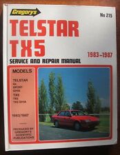Telstar TX5 1983-1987 Gregory's Manual No. 215