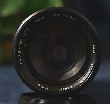 Nice Manual Focus TELESOR 75-300 mm f 5.6  Zoom Lens for Nikon AiS Cameras