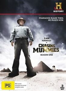 Chasing Mummies : Season 1 (DVD, 2010, 3-Disc Set) Region 4 Very Good Condition