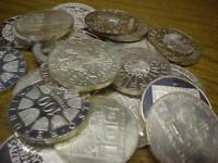 Anlegerposten , 100 x 100 Schilling Österreich, 2,4 KG Silber , Investorenpaket