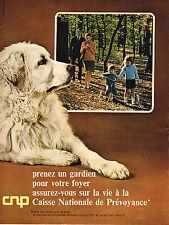 PUBLICITE  1967   CAISSE NATIONALE DE PREVOYANCE  assurances