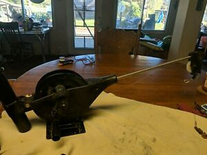Cannon Easi-Troll Manual Downrigger with Counter and Line and Base
