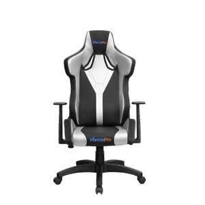 Xtempro Galactica Ergonomic Gaming Adjustable Recliner Swivel Seat (Silver)