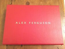 Alex Ferguson My Autobiography Special SIGNED LIMITED LEATHER EDITION Book