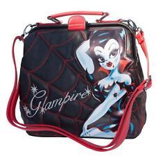 Kreepsville Glampire Miss Fluff Vampire Spider Web Crossbody Shoulder Bag Purse