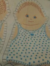 Little Boy Stitch Up doll panel with outfit