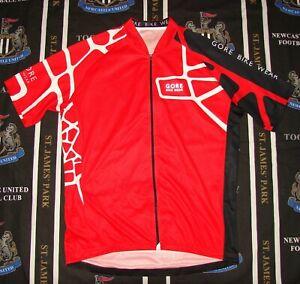Gore Bike Wear Cycling Bicycle Jersey Shirt Full Zip Size 2XL