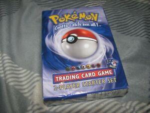 Pokemon Trading Card Game 2-Player Starter Set 1999 WOC06047 **SEALED**