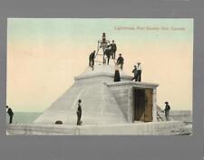pk35671:Postcard-Lighthouse,Port Stanley,Ontario