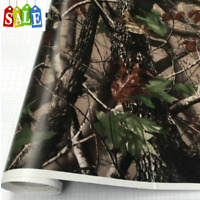 Camo Tree Vinyl Break Up Real Car Wrap PVC Adhesive Real Tree Camouflage Film