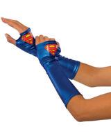 Supergirl Adult Gauntlets Superhero DC Comics Arrowverse Prop Costume Halloween
