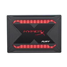 240GB Kingston HyperX Fury RGB 2.5-inch SATA 3 Solid State Drive Upgrade Bundle