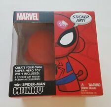 Kidrobot Marvel Munny Mini Spider-Man Create Your Own Super Hero Toy stickers