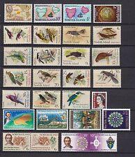 Norfolk Island 1969-1971 postfrisch Jahrgang