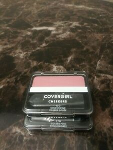 2 Covergirl Cheekers Blush GOLDEN PINK #170 New in Sealed Packages LOT OF 2
