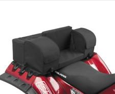 Universal Fit ATV Rear Rack Cargo 3 Bag Kit w/ Passenger Seat Backrest & Armrest