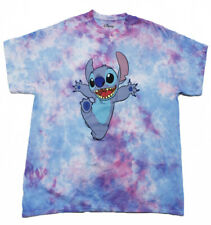 d16366add948 Disney Men's Lilo and Stitch Graphic Tie Dye Licensed T-Shirt