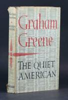 Graham Greene First Edition 1955 The Quiet American Heinemann Hardcover w/DJ