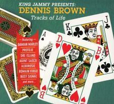 DENNIS BROWN - TRACKS OF LIFE (KING JAMMY PRESENTS) (DIGIPAK)   CD NEW
