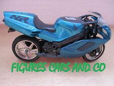 MOTO 1/18  HONDA 750 NSR BLEU METAL 1994  MOTORMAX