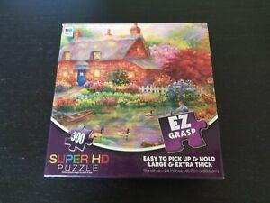 Cottage Creek Painting Super HD Puzzle -Complete, NEW- 300 pieces