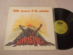 BOB MARLEY - UPRISING TURKEY RARE TURKISH PRESSSING