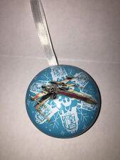 Disney Christmas Ornament Xmas Star Wars X-Wing  Force Hallmark Store