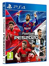 eFootball Pro Evolution Soccer (PES) 2020 PS4 (Sony PlayStation 4, 2019)