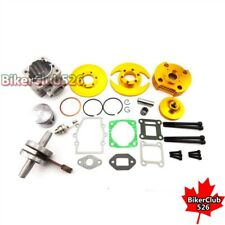 Gold 44mm Big Bore Kit Cylinder Head 47cc 49cc Mini Moto Dirt ATV Pocket Bike