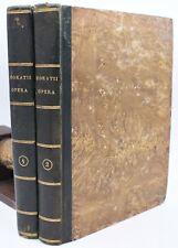 Desprez ORAZIO OPERE 2 vol Remondini 1822 Antologia Poesia Letteratura Latino