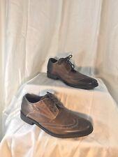BED STU Mens Brown Leather Wingtip Oxfords Size 8