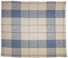 Beautiful Handmade 100% Cotton Jacquard Table Napkin Floral Grapevine Blue