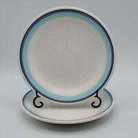 "Set of 2 Vintage Franciscan Pottery Malibu Bread Dessert 6.5"" Plates NICE"