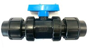Stop Tap Valve  :  To Suit HDPE & MDPE & Alkathene Pipe  :  20mm To 63mm