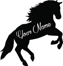 Custom Horse vinyl decal sticker for car/truck laptop window custom